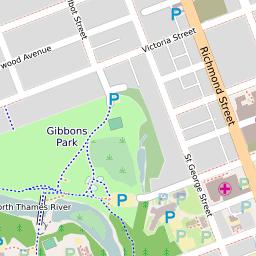 Map Downtown London.London Downtown Scribble Maps